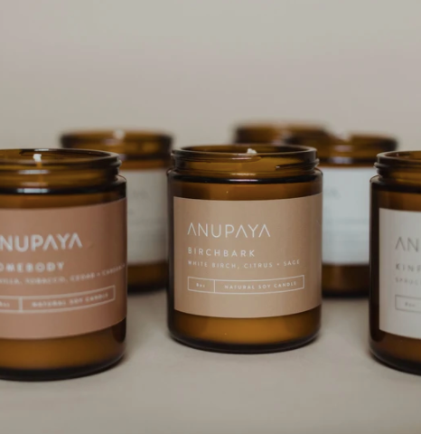 Homegrown Candle | ANUPAYA