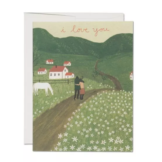 Along the Road - Greeting Card