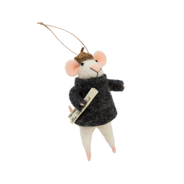 Brooklyn Mouse Ornament