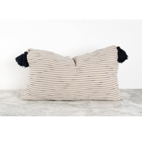 Tara Pillow  - Black | POKOLOKO