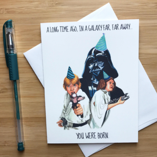 Star Wars Birthday - Greeting Card