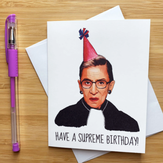 RBG Birthday - Greeting Card