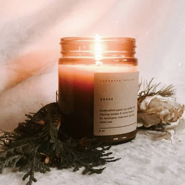 Grace Candle | LAVENDER TREE