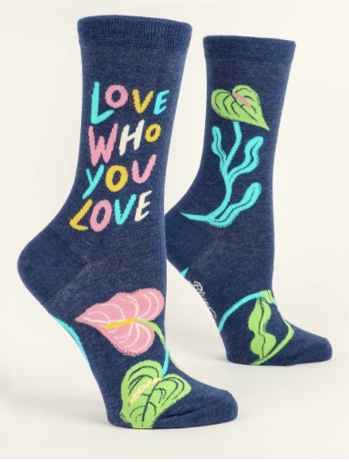 Love Who You Love Socks - Women | JV Studios Boutique