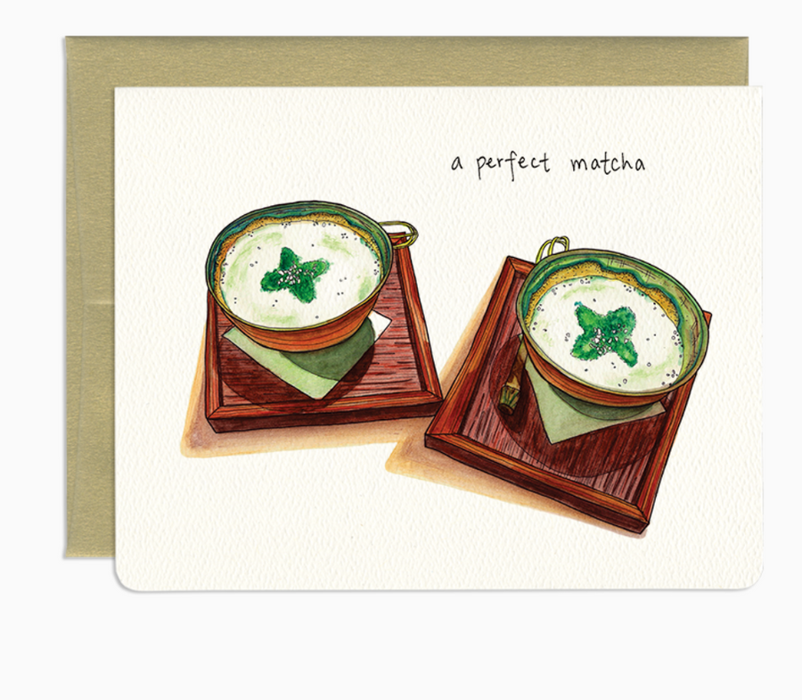 Perfect Matcha  - Greeting Card