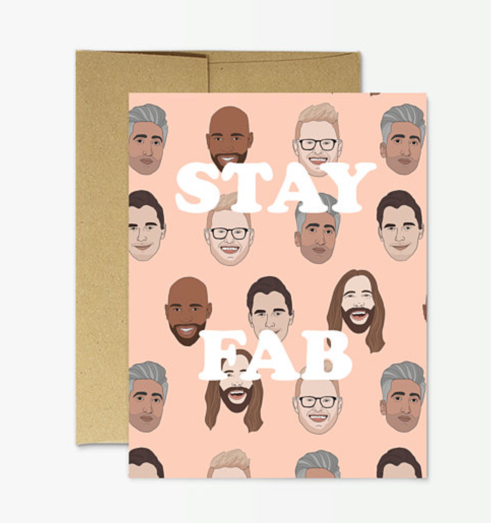 Stay Fab - Greeting Card