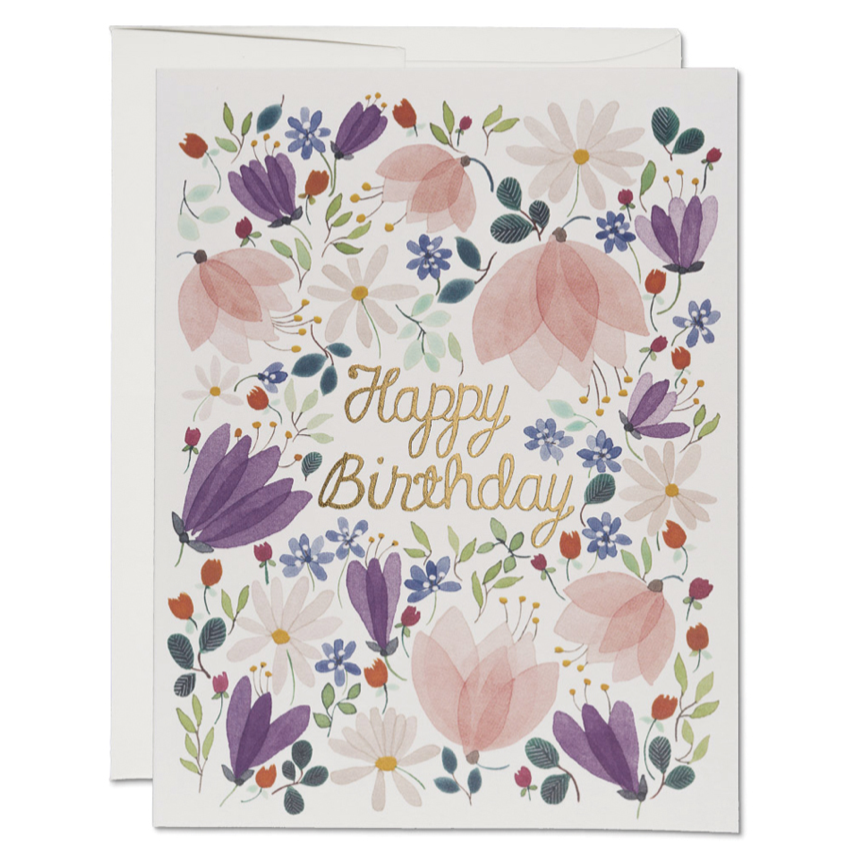 Birthday Whispers - Greeting Card