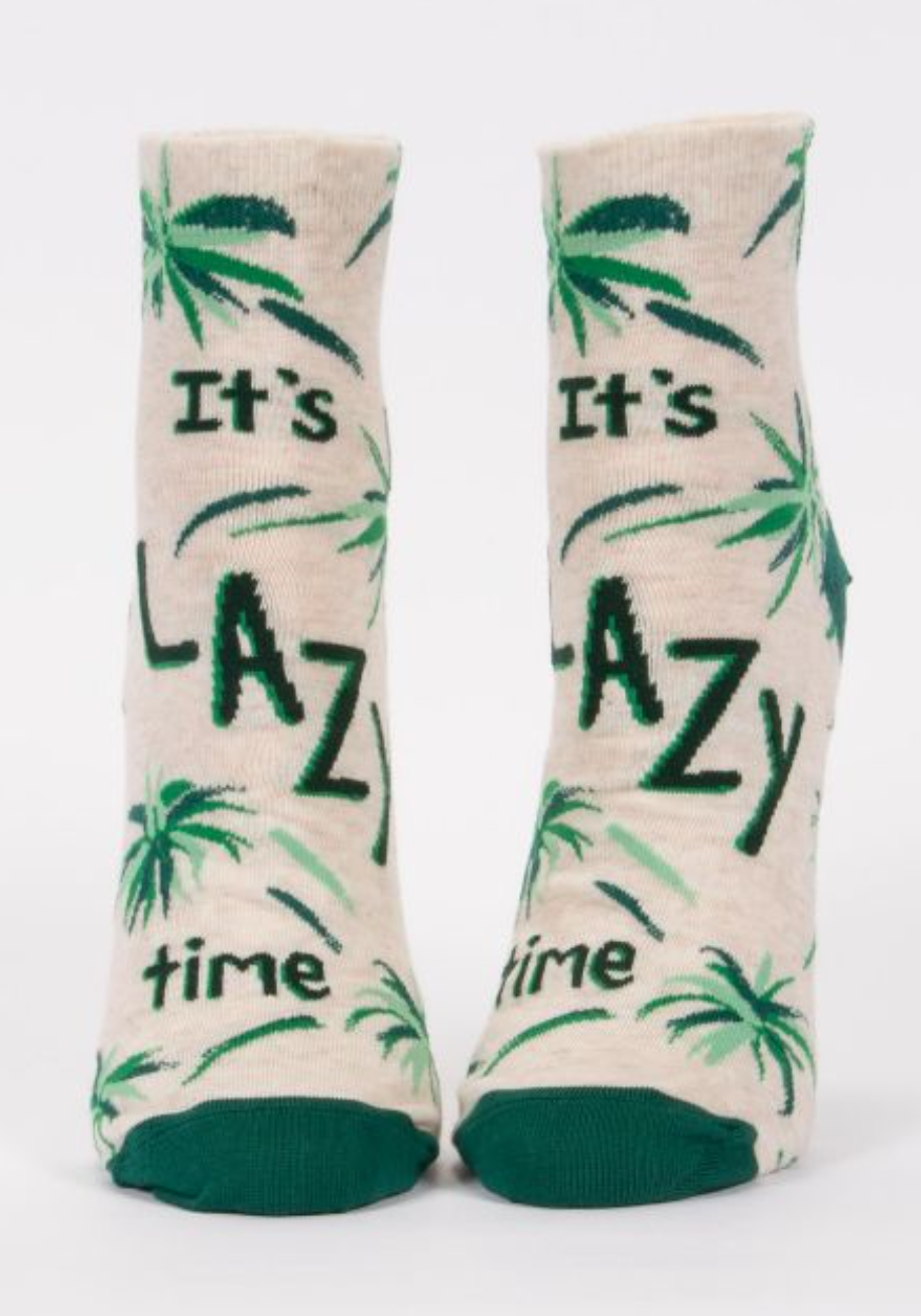 It's Lazy Time Socks - Women