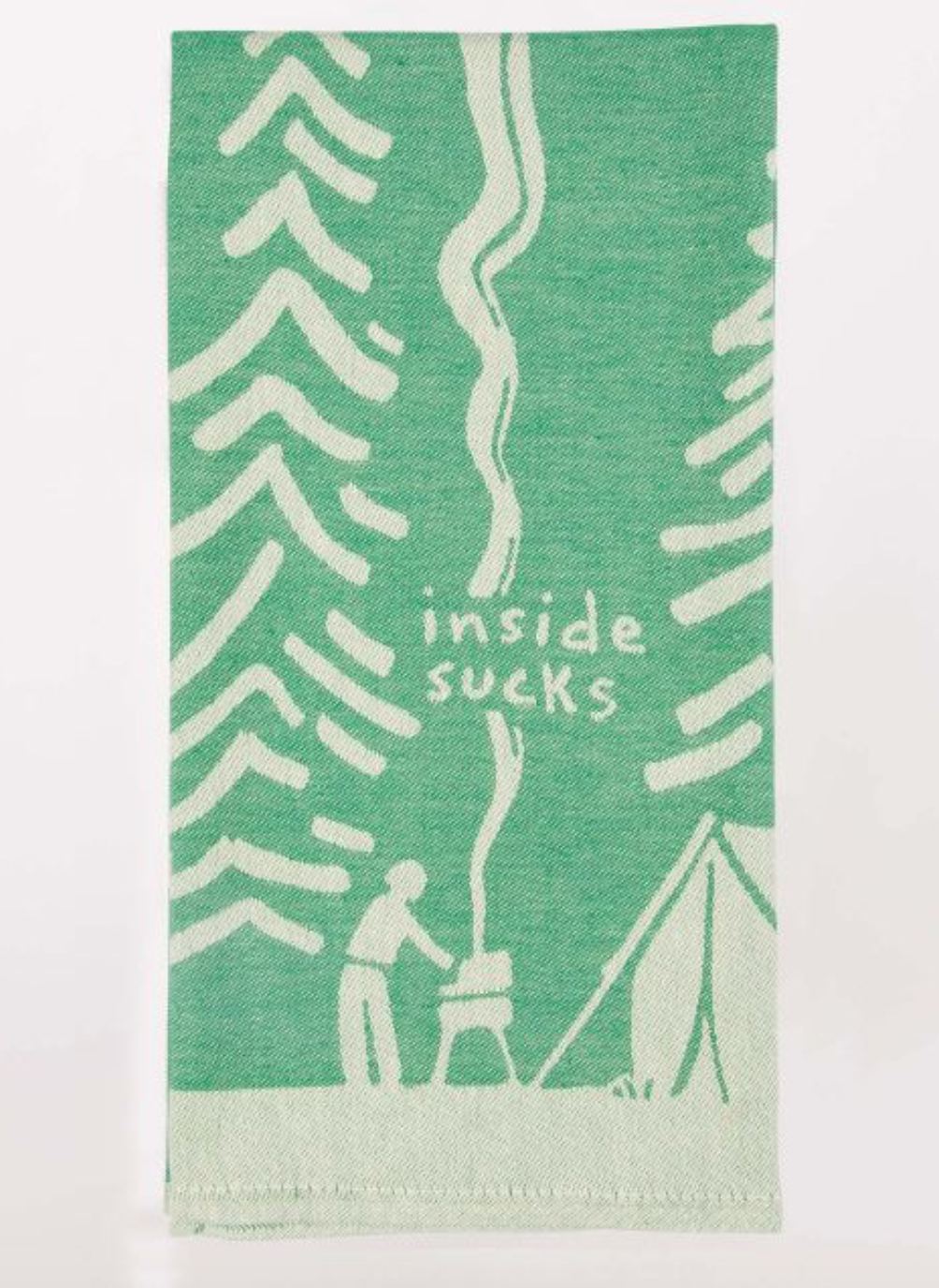 Inside Sucks Dish Towel
