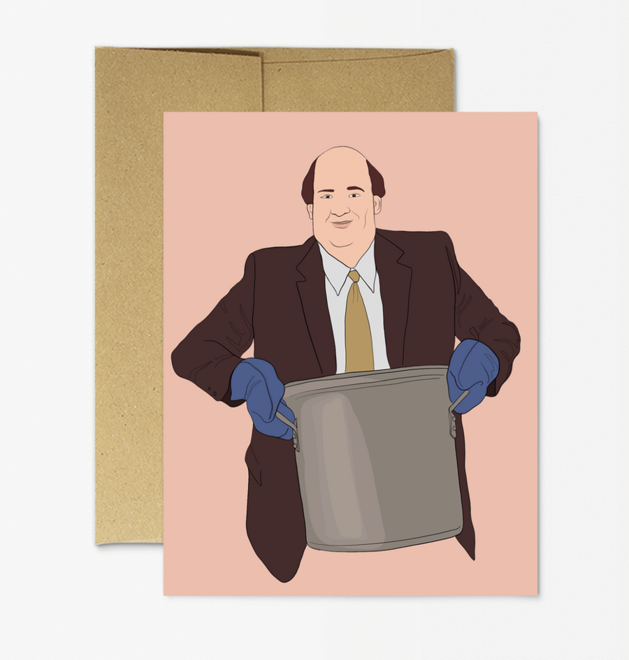 Kevin Chilli - Greeting Card
