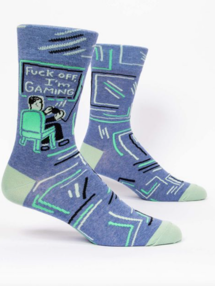 F*ck Off, I'm Gaming Socks - Men | JV Studios Boutique