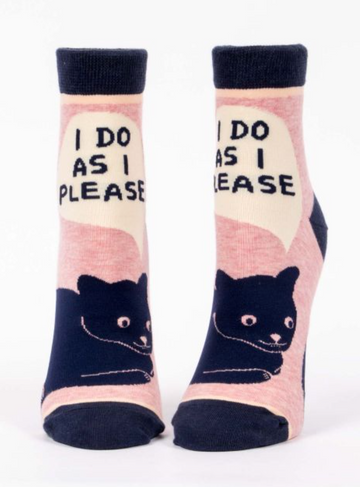 I Do As I Please Socks - Women