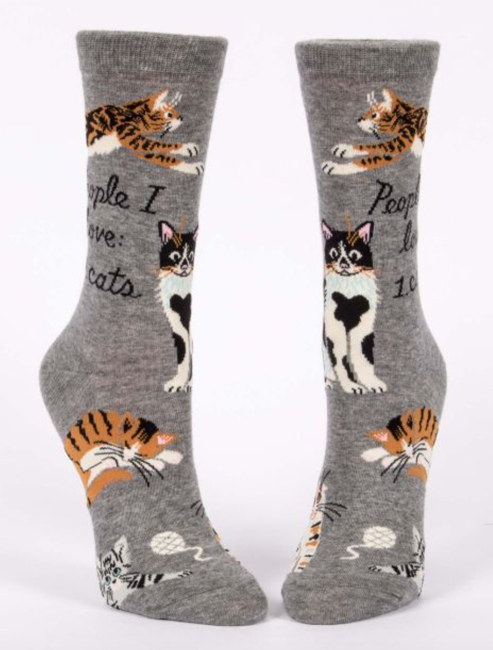People I Love: Cats Socks - Women
