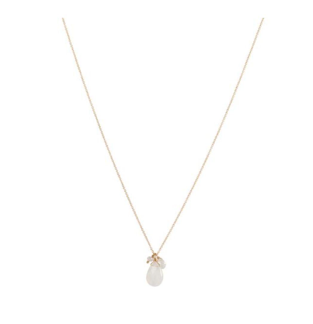 Isabel Necklace - Moonstone