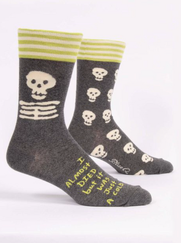 I Almost Died  Socks - Men