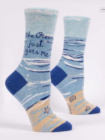 The Ocean Just Gets Me Socks - Women