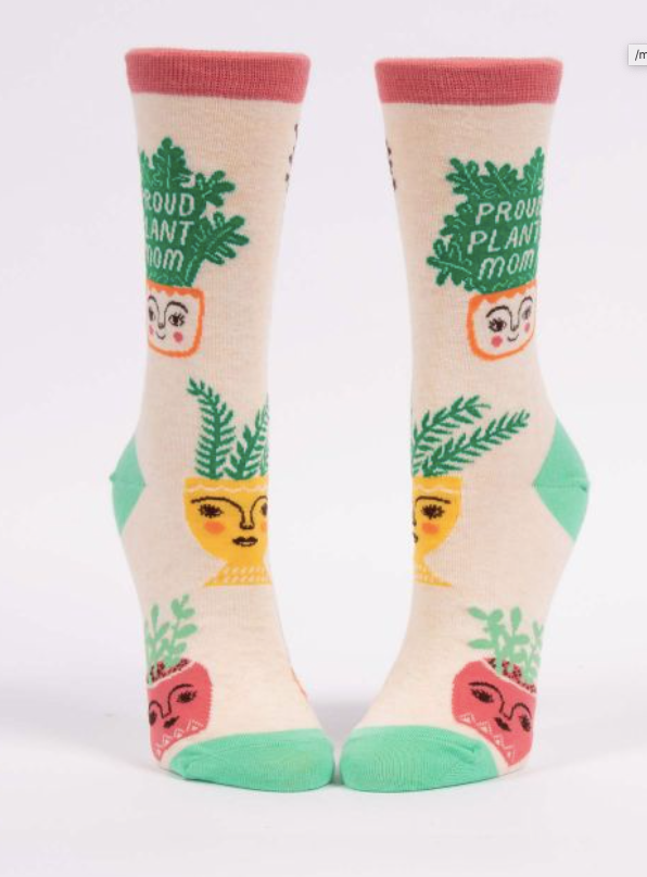 Proud Plant Mom Socks - Women