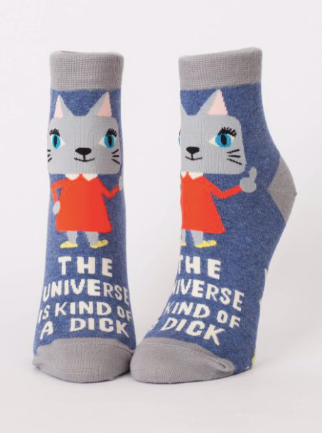 The Universe Is Kind Of A Dick Socks - Women