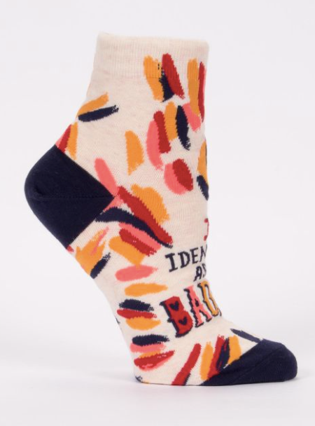 I Identify As Bad Ass Socks - Women
