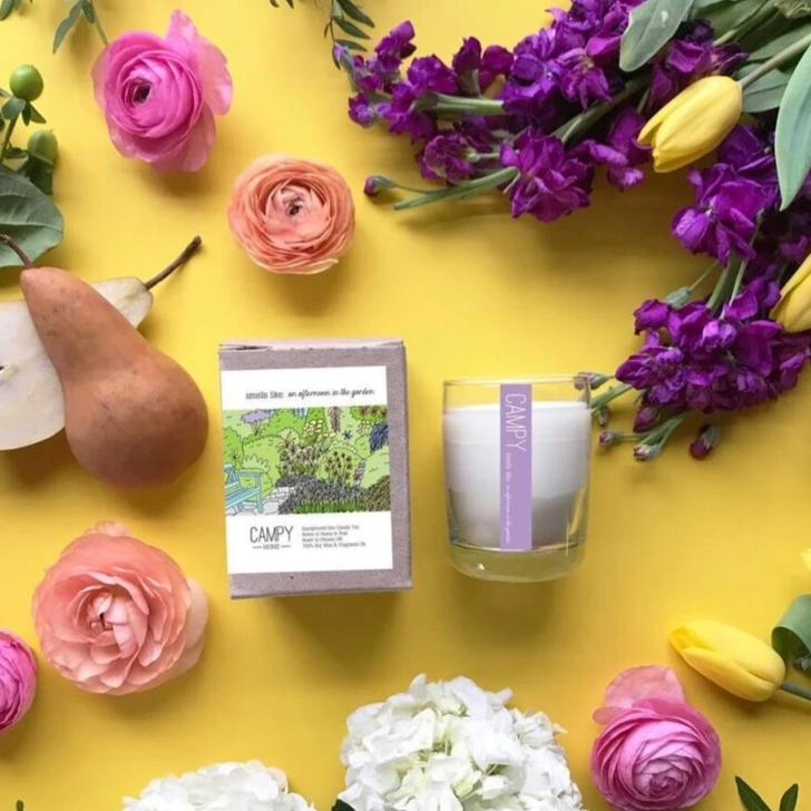 CAMPY CANDLES |Afternoon in the Garden Candle | JV Studios & Boutique