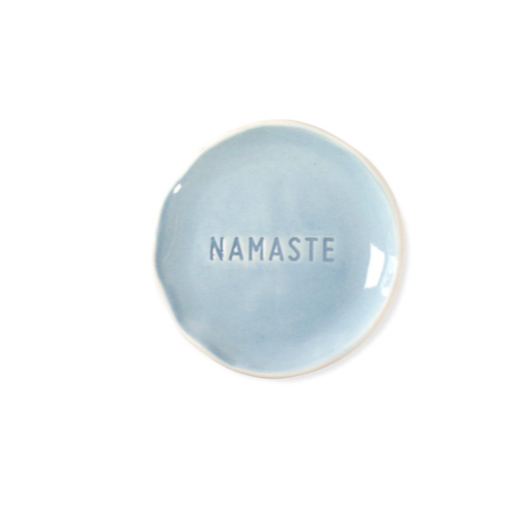 Stamped Word Tray - Namaste