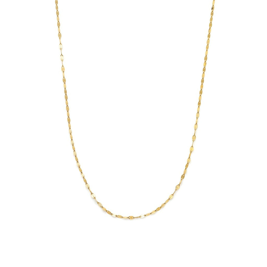 10K Shimmer Necklace | LEAH ALEXANDRA