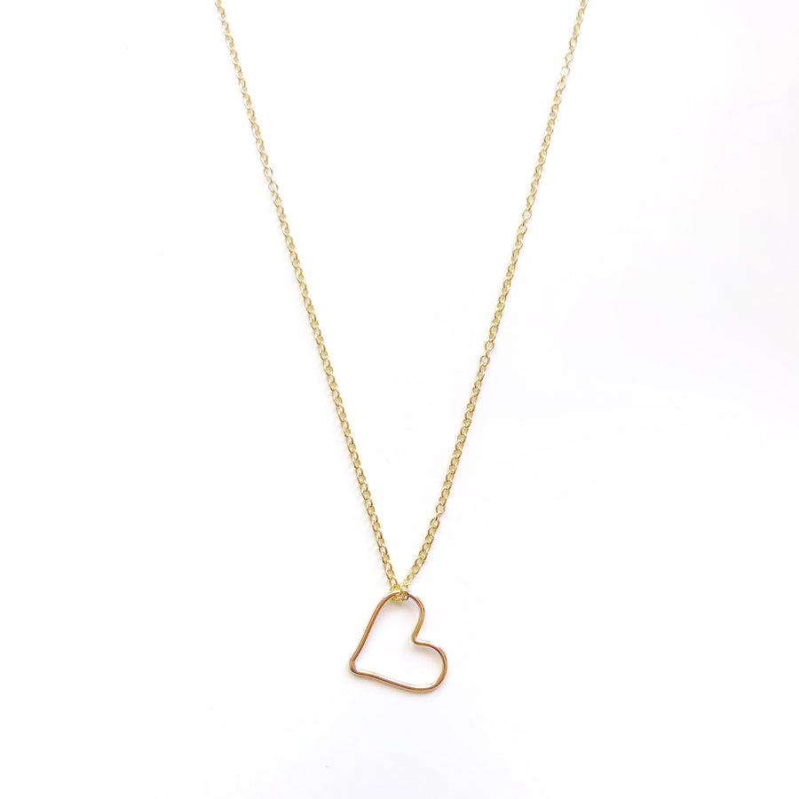 Open Heart Necklace | JASMINE VIRANI