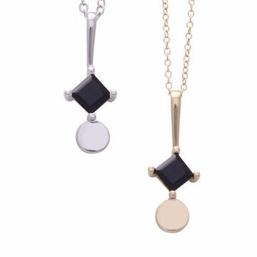 Sorn Necklace - Onyx | SARAH MÜLDER | JV Studios Boutique
