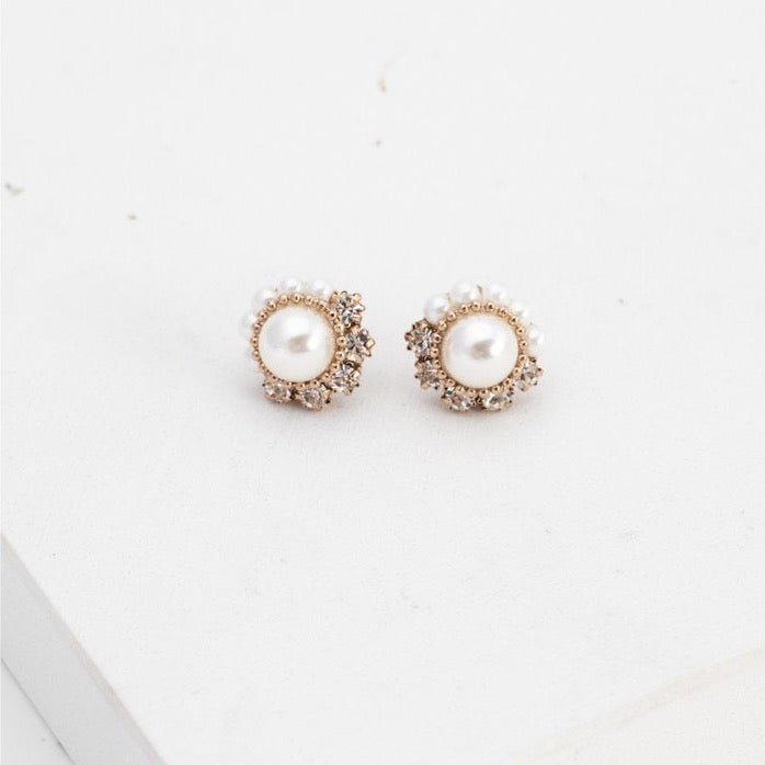 Empress Pearl Post Earrings | LOVER'S TEMPO