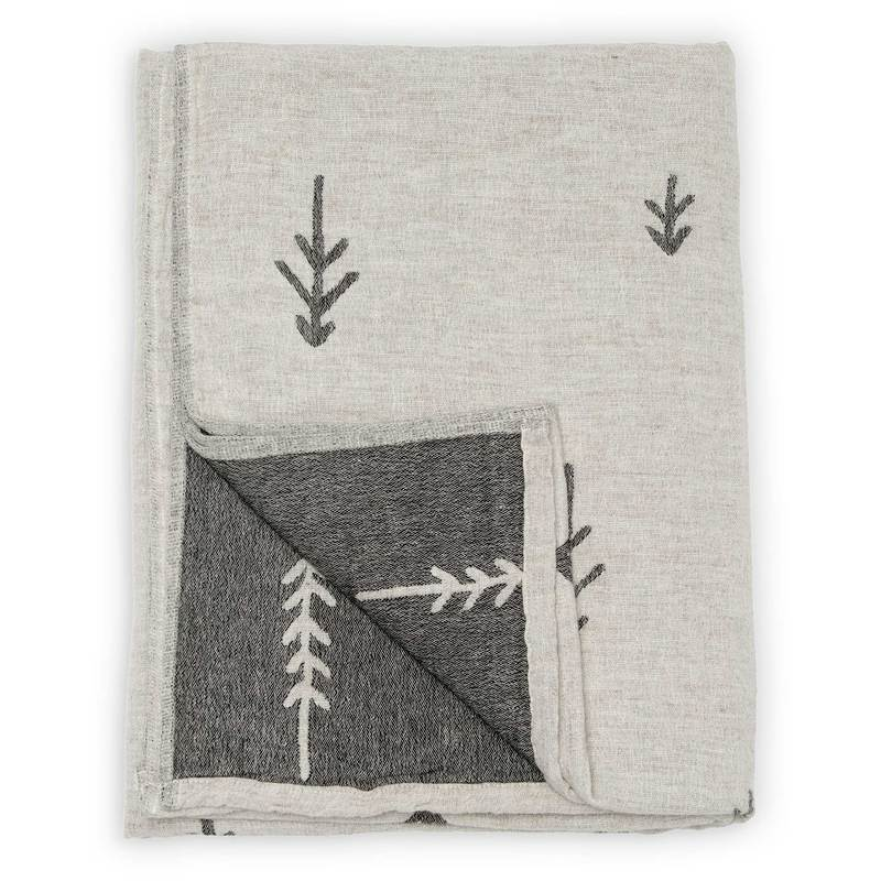 Lambswool Throw - Tree