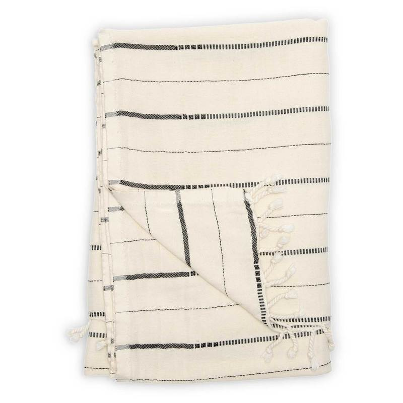 Turkish Cotton Throw - Irena | Pokoloko | JV Studios & Boutique