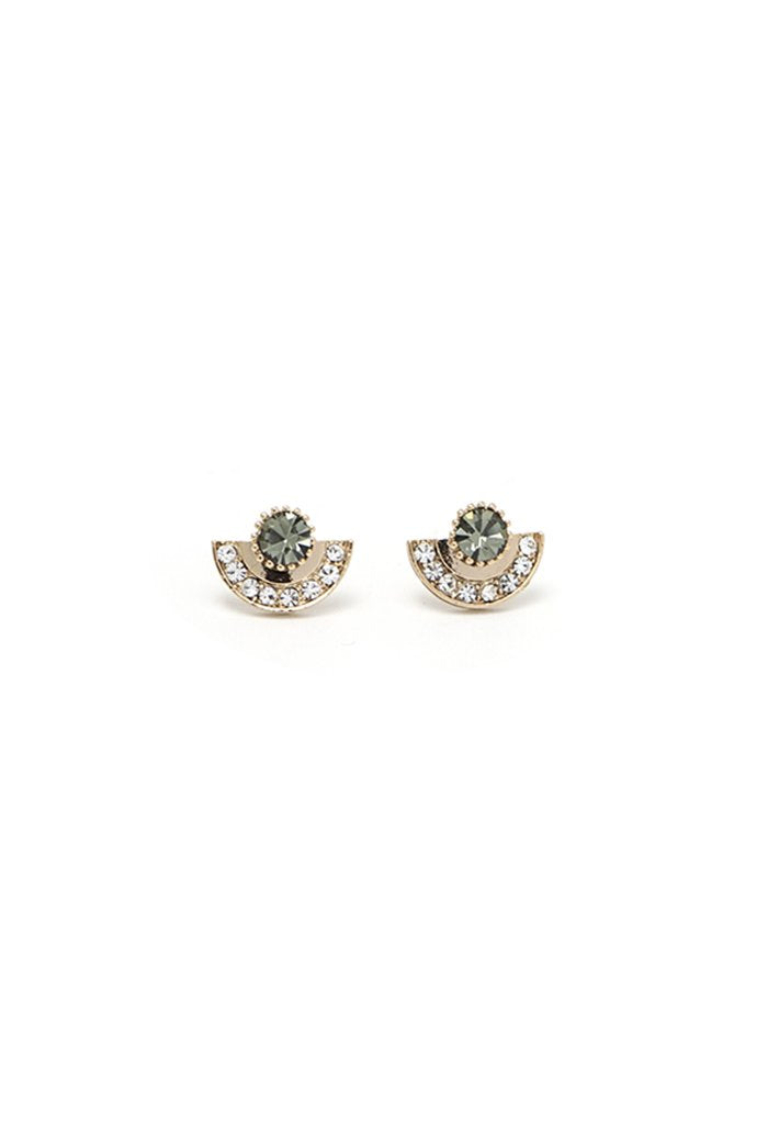 Arc Studs - Black | LOVER'S TEMPO