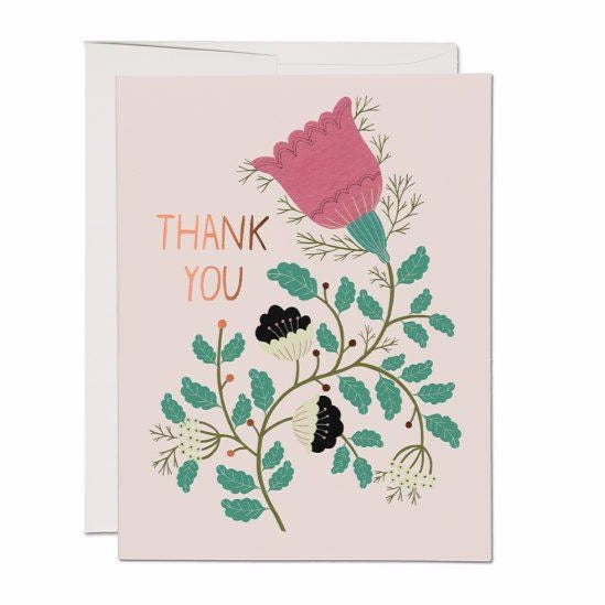Thank You Tulips - Greeting Card