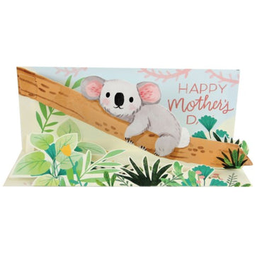 Koala Mom - Pop Up Greeting Card