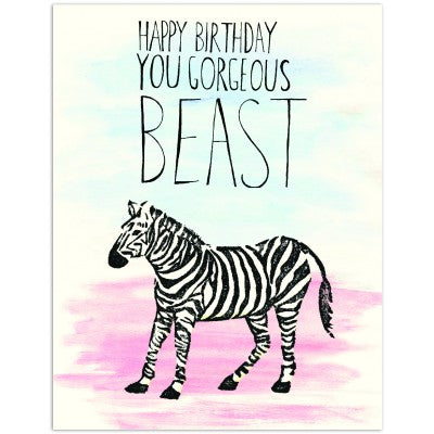 Gorgeous Beast - Greeting Card