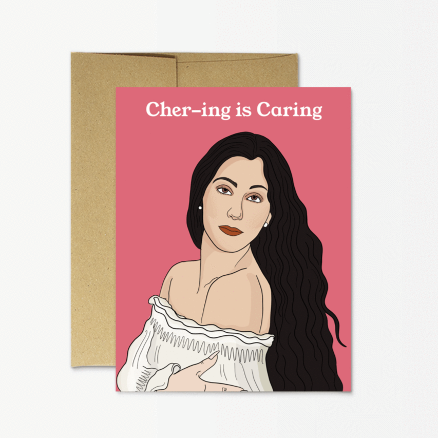 Chering is Caring - Greeting Card