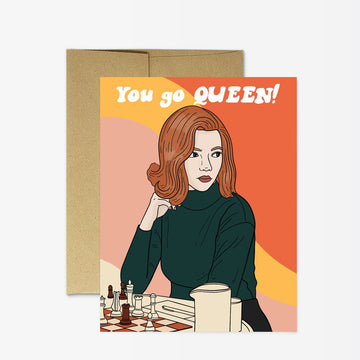 Queen's Gambit- Greeting Card