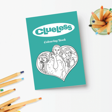 Clueless Colouring Book