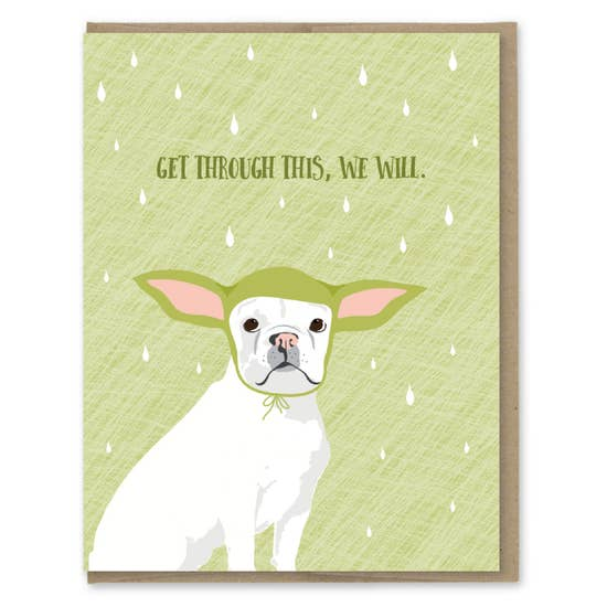 Yoda Dog - Greeting Card