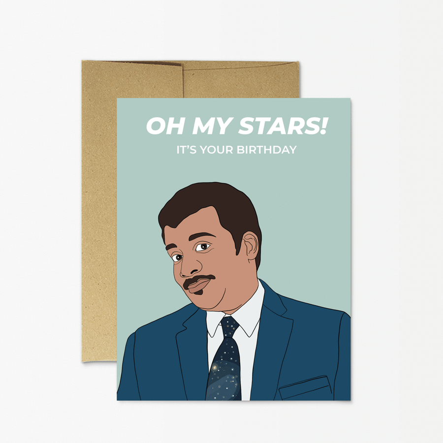 Neil DeGrasse Tyson - Greeting Card