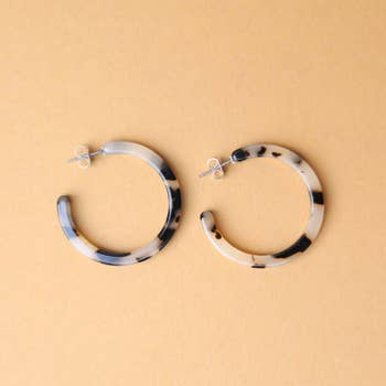 Classic Tortoise Hoops | NAT + NOOR (various colours)