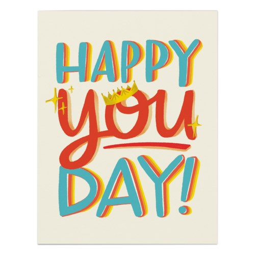 Happy You Day - Greeting Card