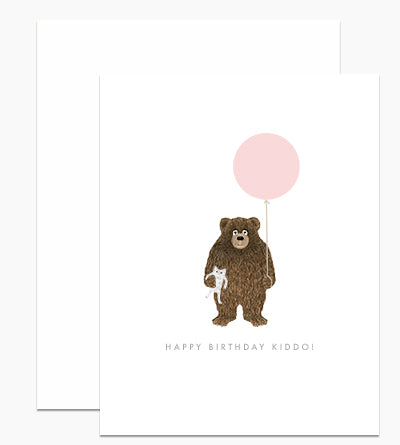 Happy Birthday Kiddo! - Greeting Card