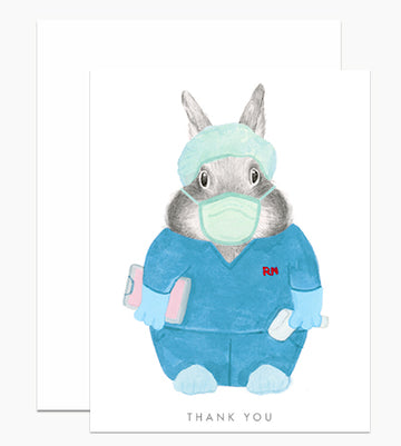 Health Care Worker Thank You - Greeting Card