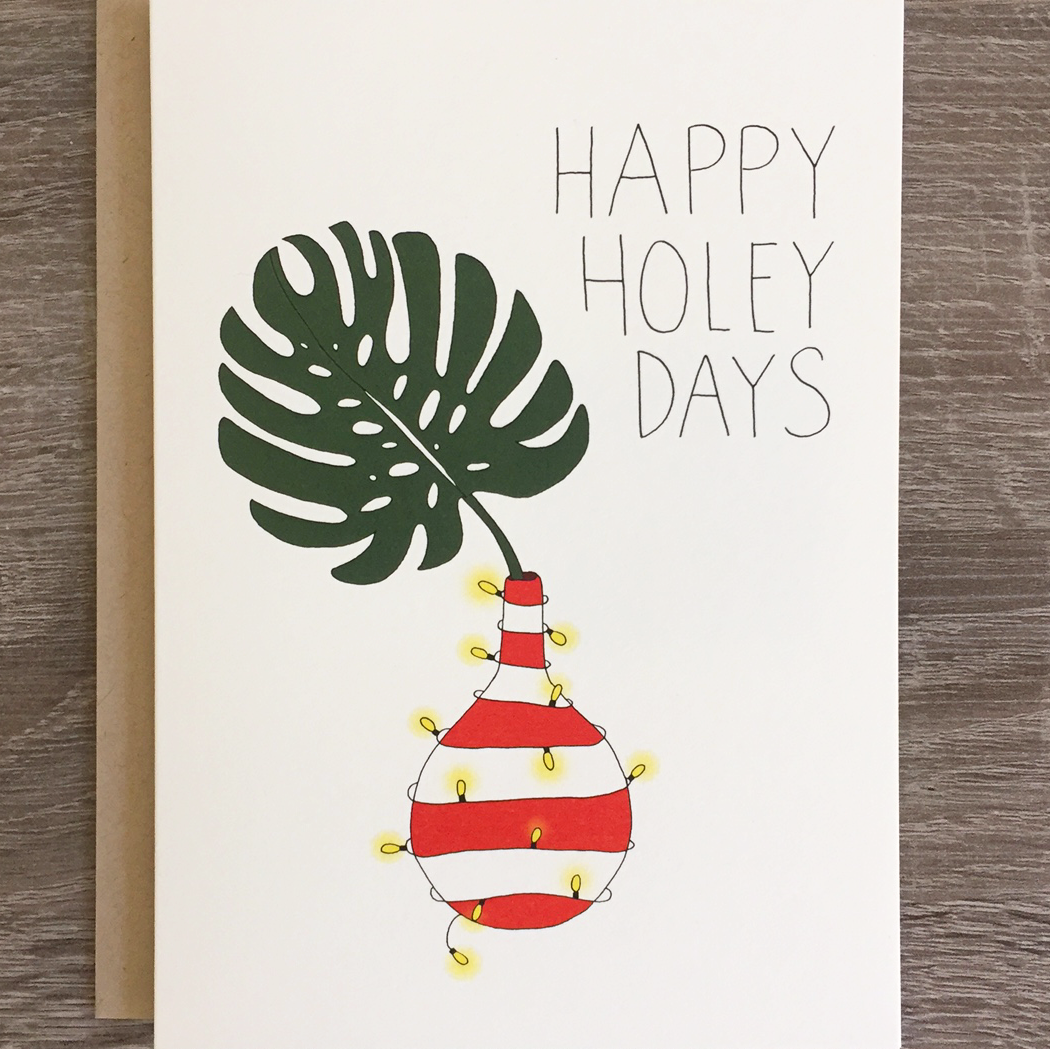 Happy Holey Days - Holiday Card