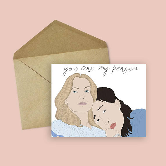You Are My Person Greeting Card Jv Studios Boutique