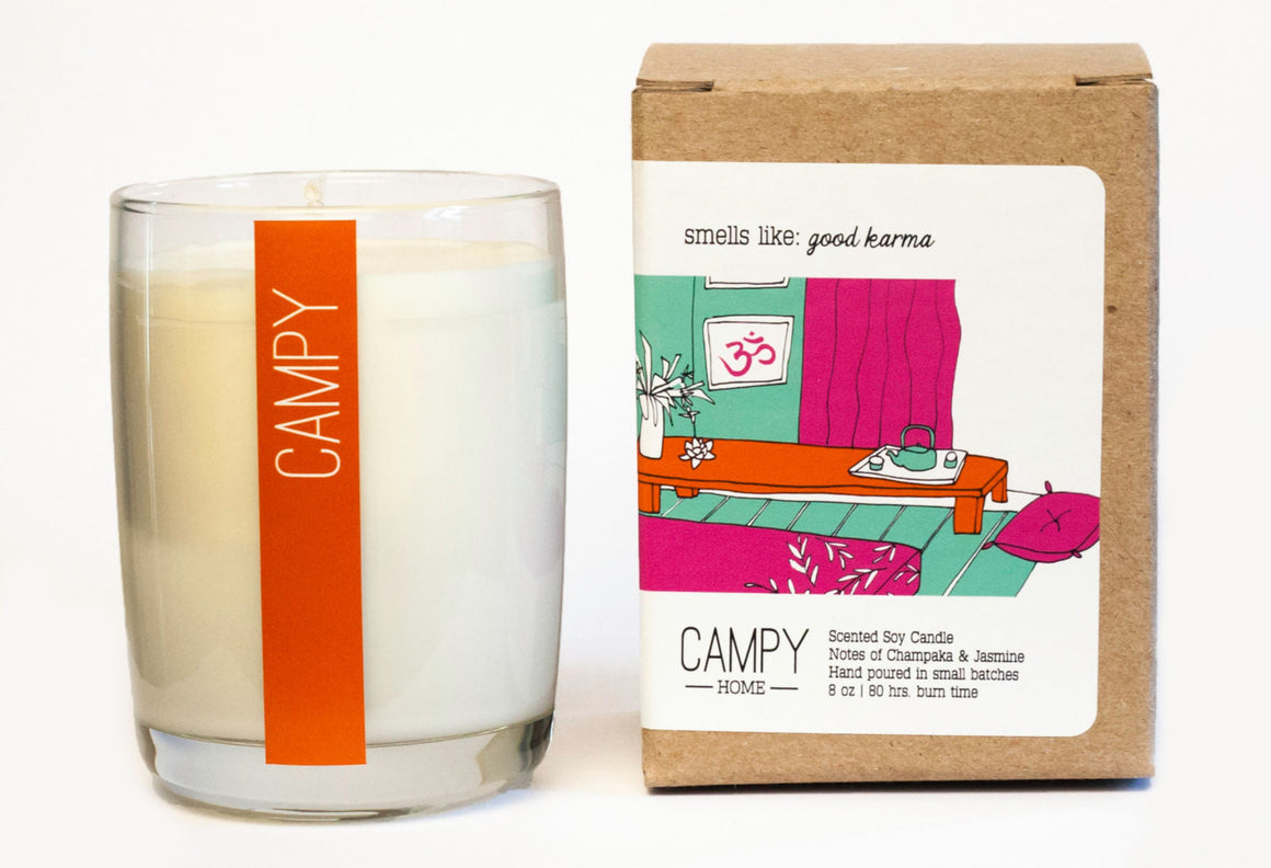 Good Karma Candle | CAMPY CANDLES