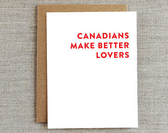 Funny greeting cards canadians make better lovers card jv funny greeting cards canadians make better lovers card jv studios boutique m4hsunfo Gallery