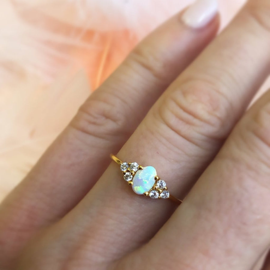 Mini Opal Abella Ring | LA KAISER | JV Studios Boutique
