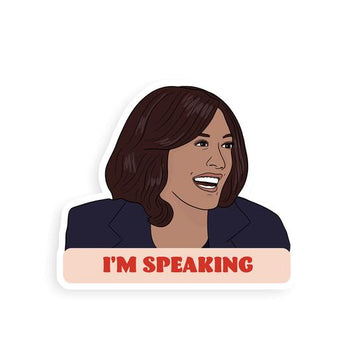 Kamala I'm Speaking | Sticker